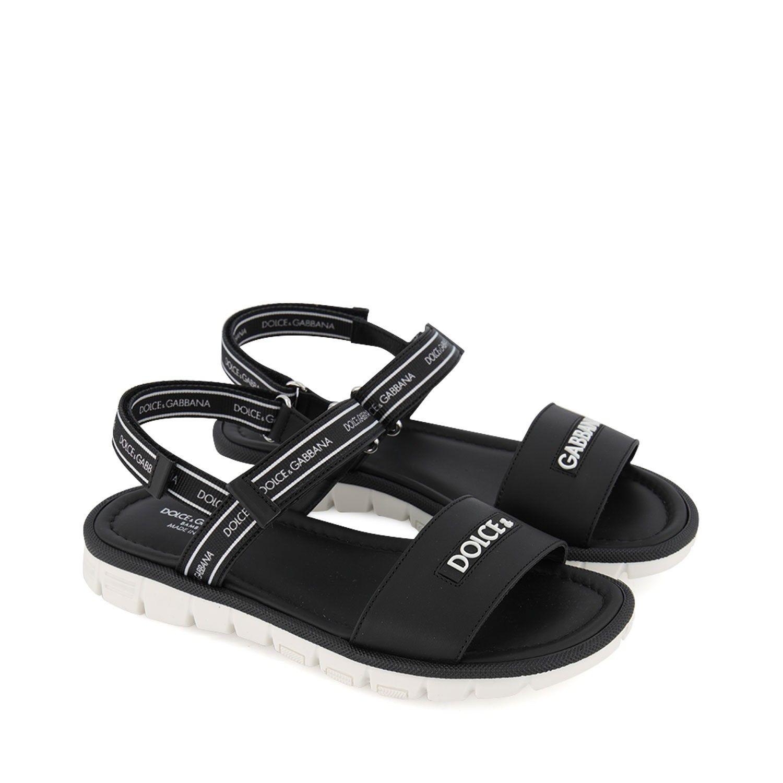 Picture of Dolce & Gabbana DA0789 / AX183 kids sandals black