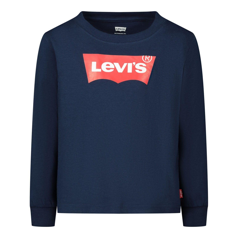 Bild von Levi's 8646 Baby-T-Shirt Marine