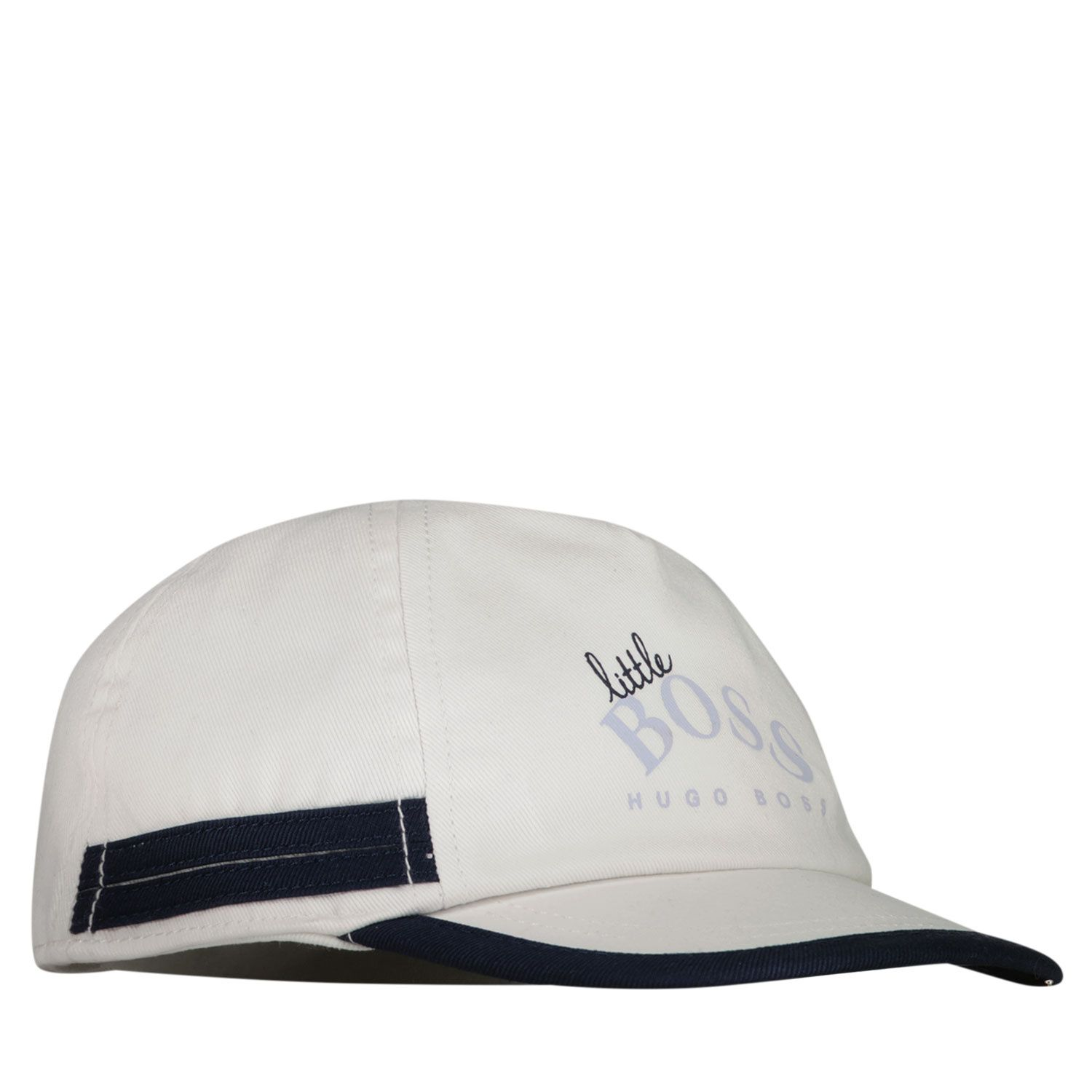 Picture of Boss J91113 baby hat white