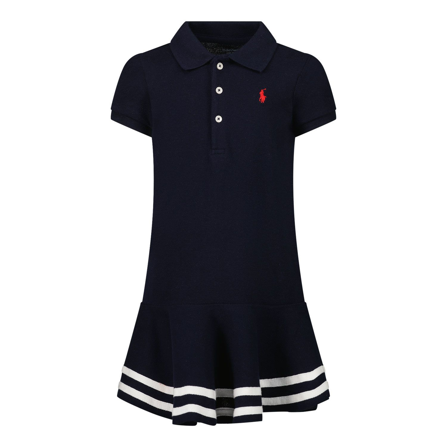 Picture of Ralph Lauren 310813945 baby dress navy