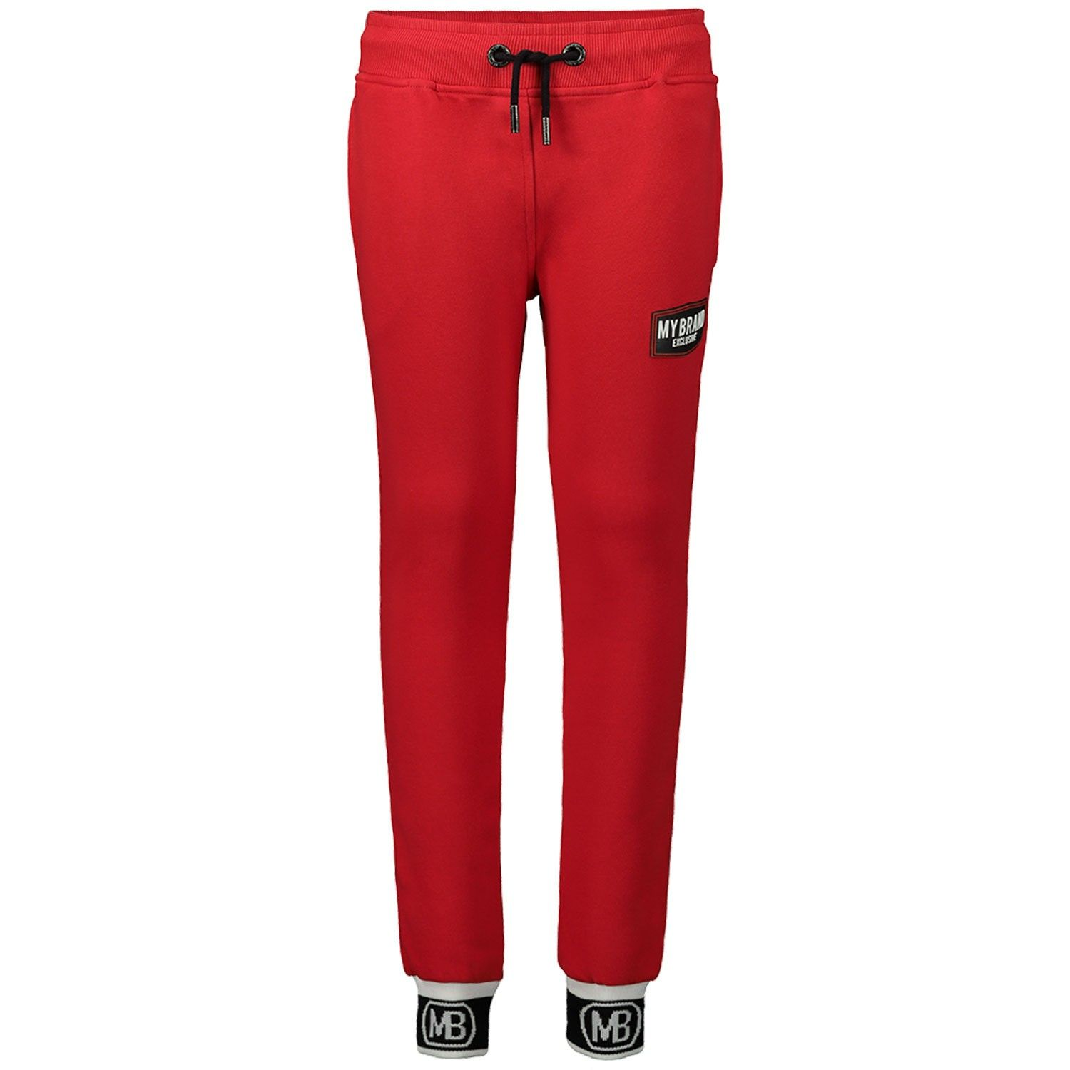 Picture of My Brand BMBJO008G3012 kids jeans red