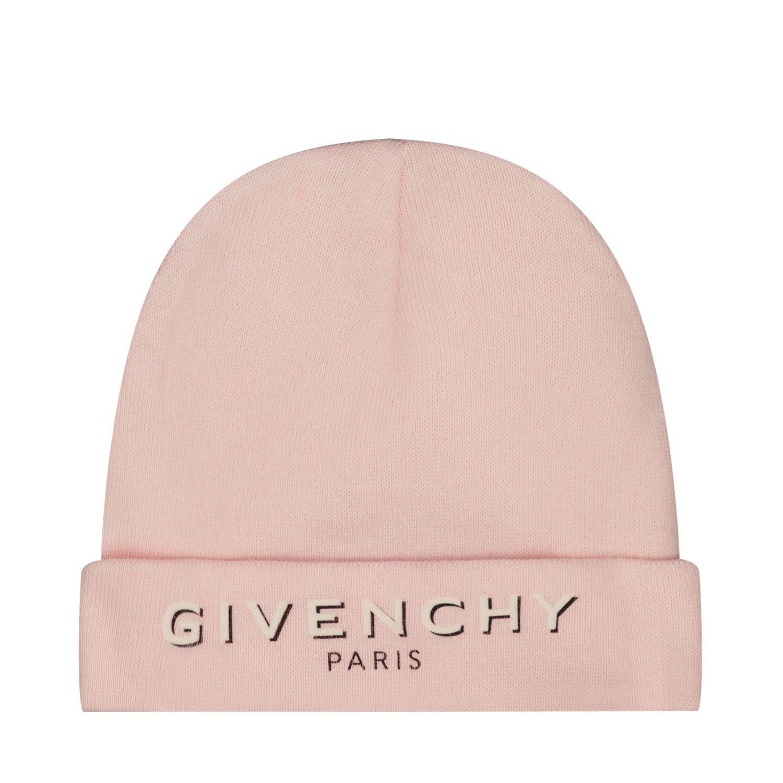 Bild von Givenchy H01037 Babymütze Hellrosa