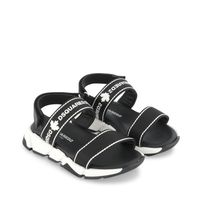 Picture of Dsquared2 66966 kids sandals black