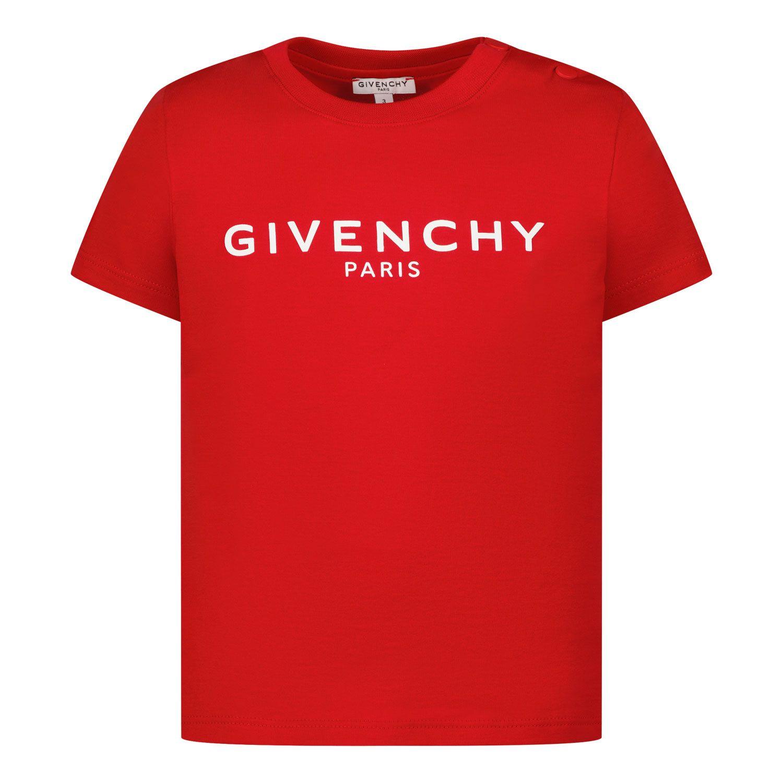 Bild von Givenchy H05M16 Baby-T-Shirt Rot