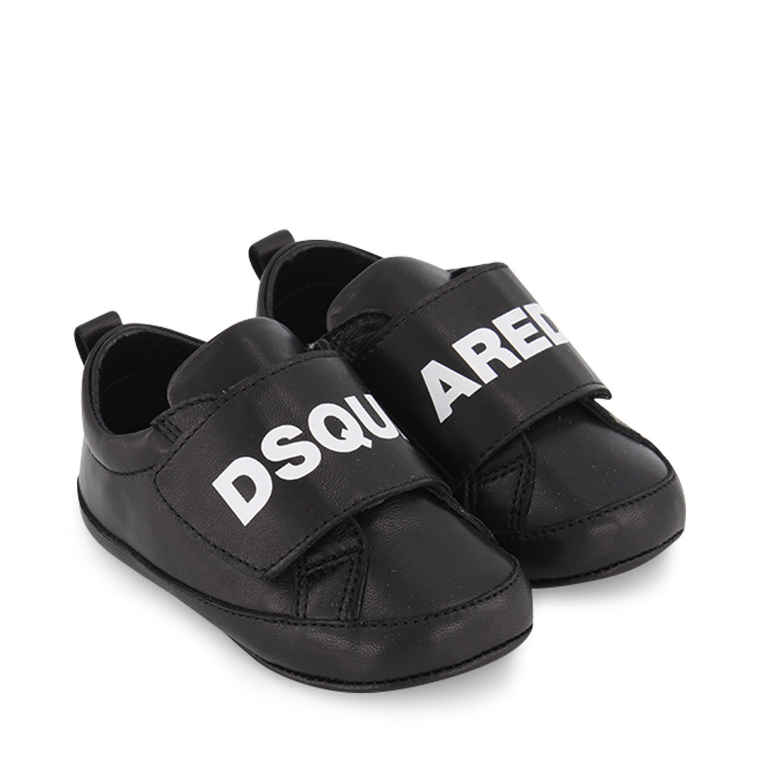 Picture of Dsquared2 68501 baby sneakers black