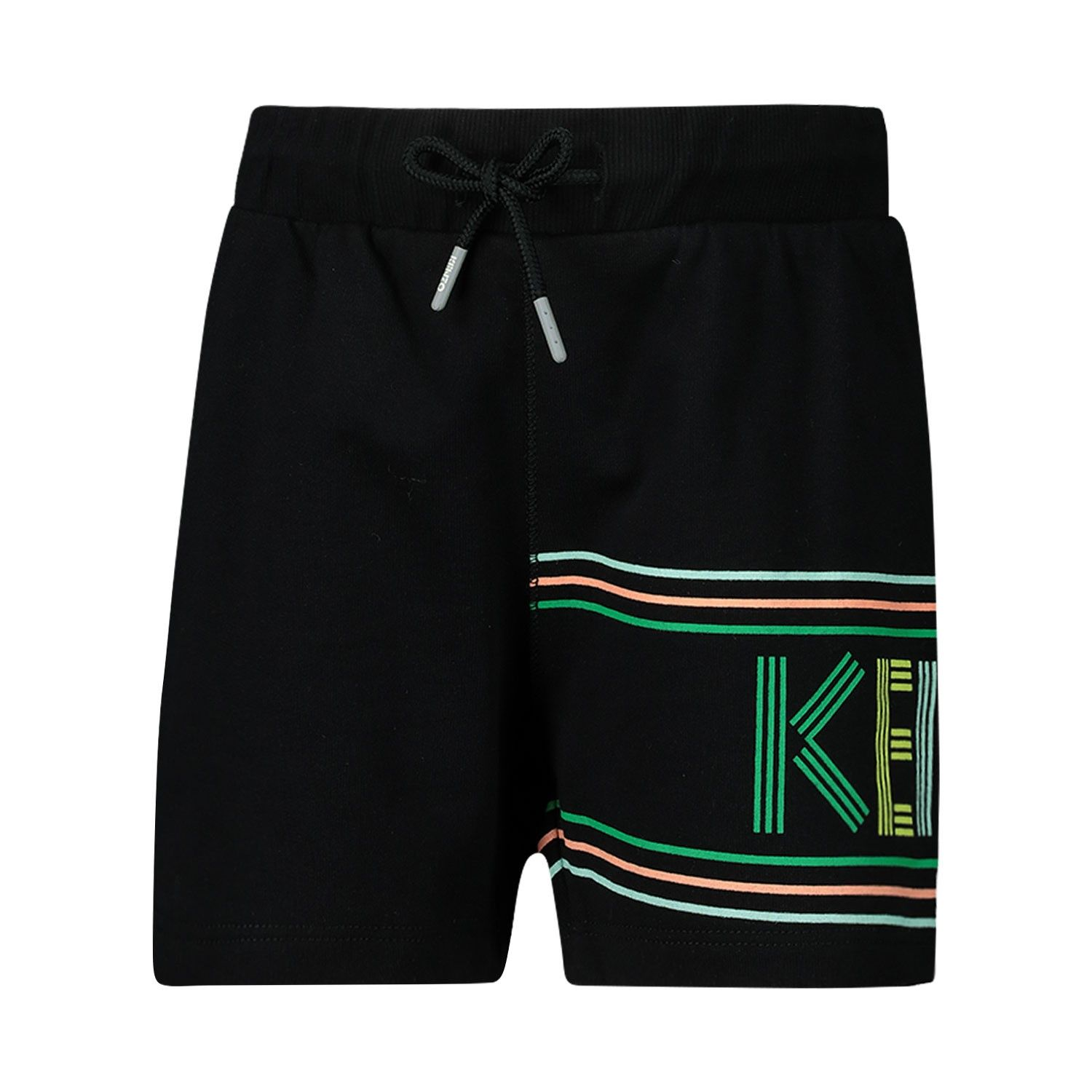 Picture of Kenzo 25547 baby shorts black