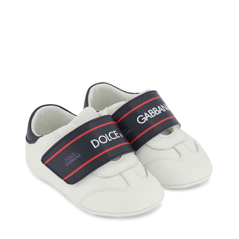 Afbeelding van Dolce & Gabbana DK0132 babyschoenen wit