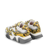 Picture of Versace YHX00029 1A00330 kids sneakers gold