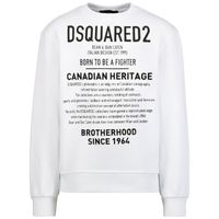 Picture of Dsquared2 DQ0474 kids sweater white