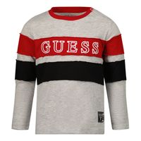 Picture of Guess N1Y123 baby shirt grey