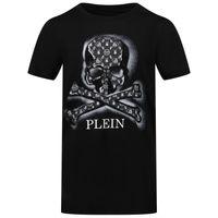 Picture of Philipp Plein BTK1104 kids t-shirt black