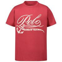 Picture of Ralph Lauren 760588 kids t-shirt red