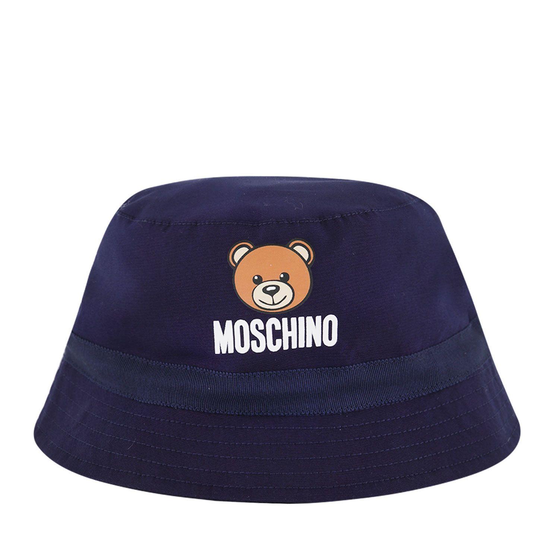 Afbeelding van Moschino MYX032 baby hoedje navy
