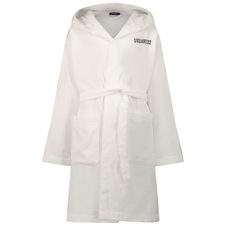 Picture of Dsquared2 DQ0641 kids underwear white