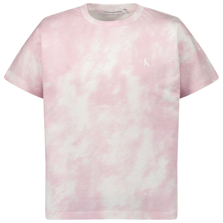 Afbeelding van Calvin Klein IG0IG00759 kinder t-shirt lila