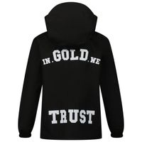 Picture of in Gold We Trust THE UMBRELLA kids jacket black