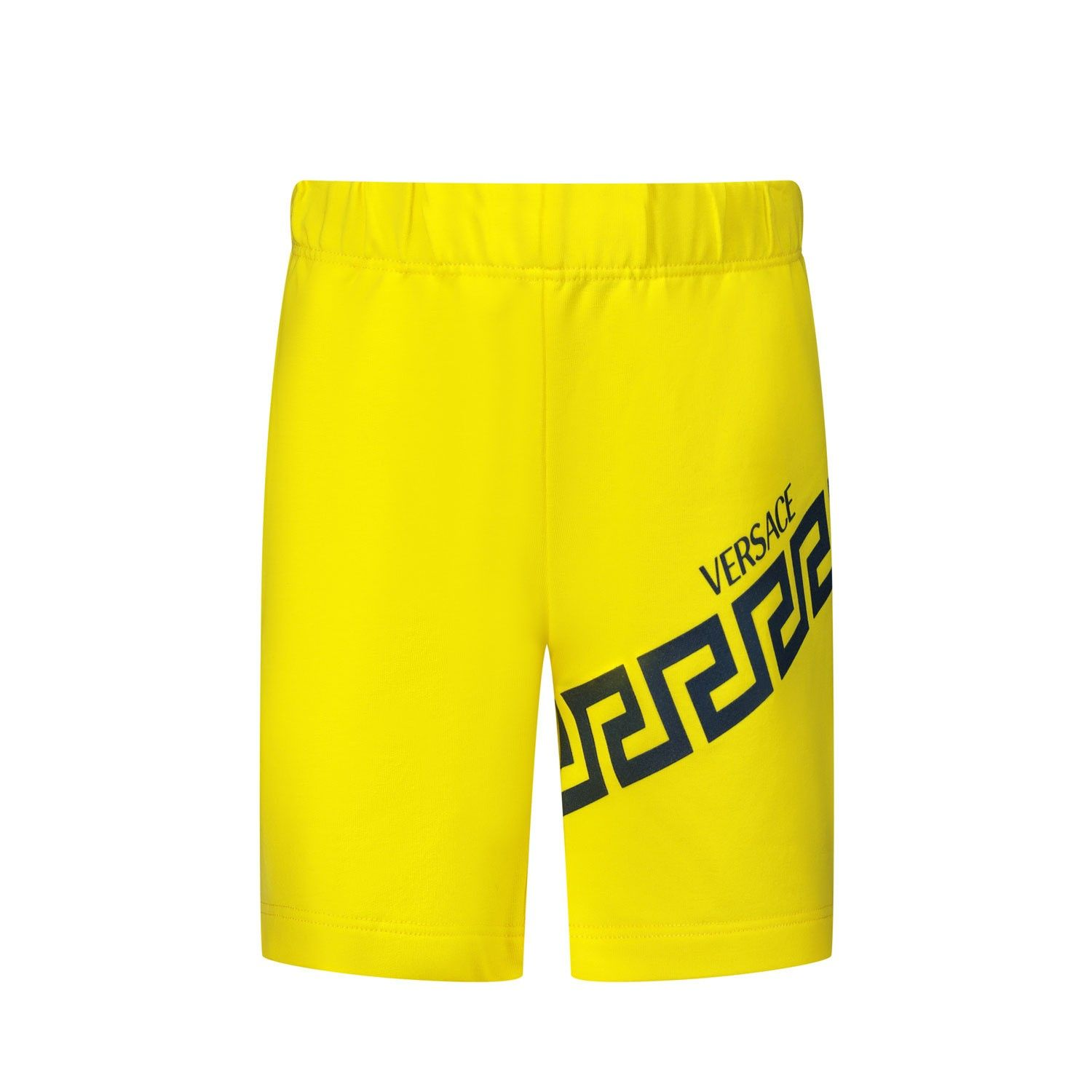 Picture of Versace YB000107 baby shorts yellow