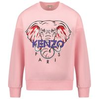 Picture of Kenzo KR15058 kids sweater pink