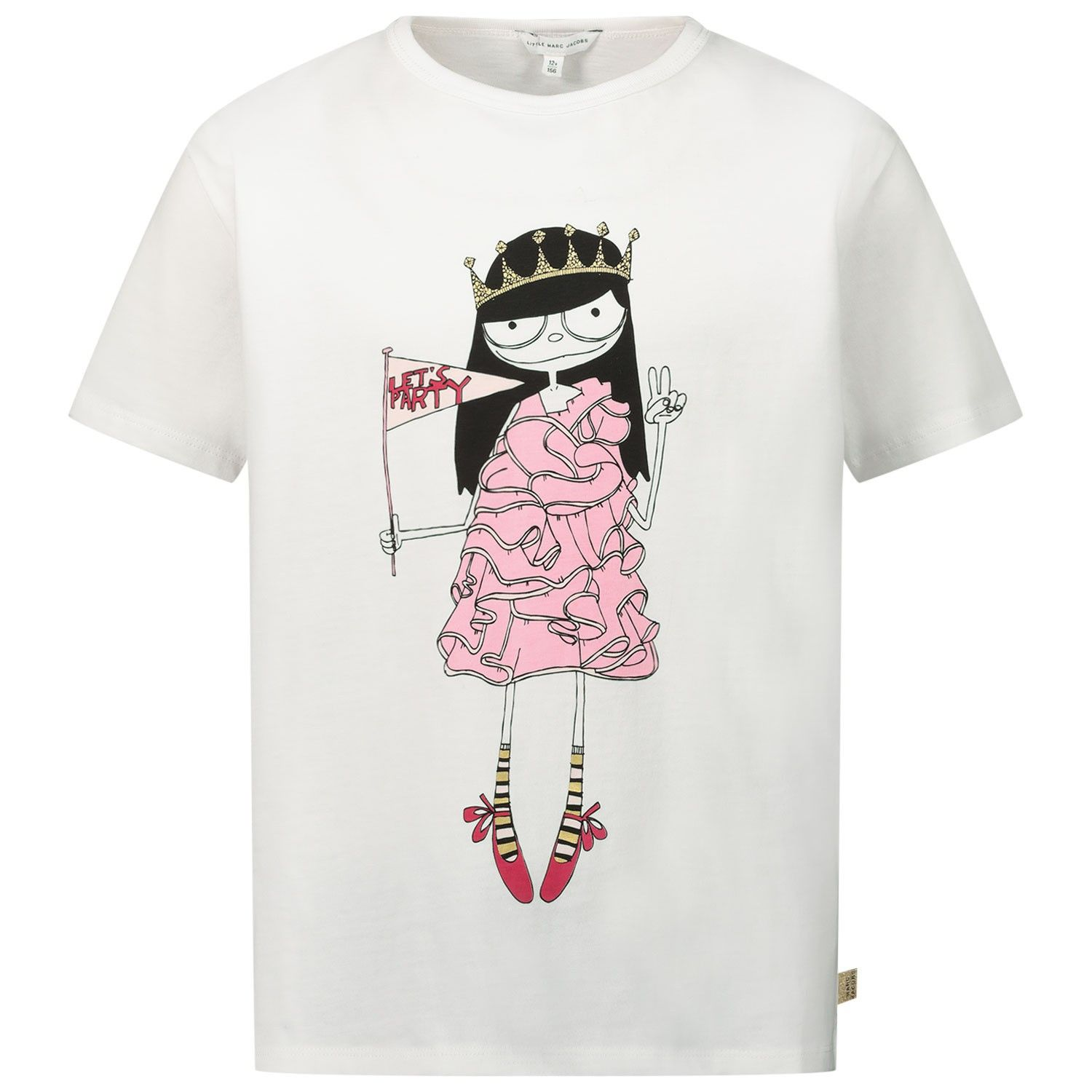 Picture of Marc Jacobs W15484 kids t-shirt white