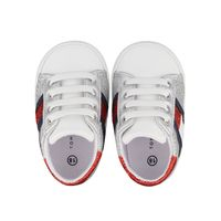 Picture of Tommy Hilfiger 31003 baby sneakers silver