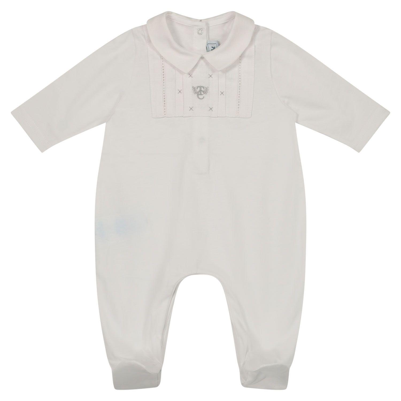 Bild von Tartine et Chocolat TS54061 Babystrampelanzug Weiß