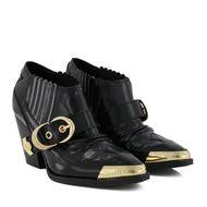 Afbeelding van Versace E0VVBS11 dames laarzen zwart