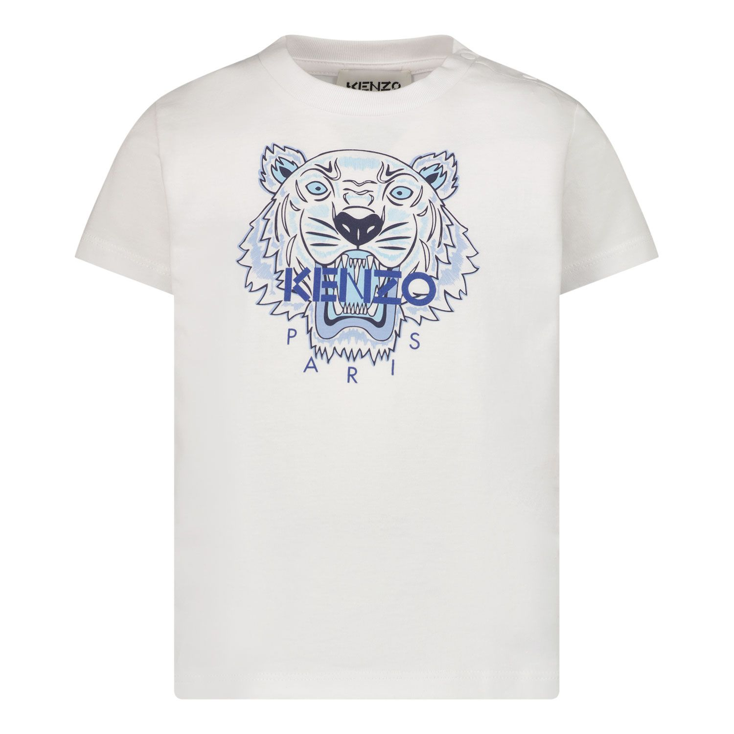 Picture of Kenzo K05050 baby shirt white