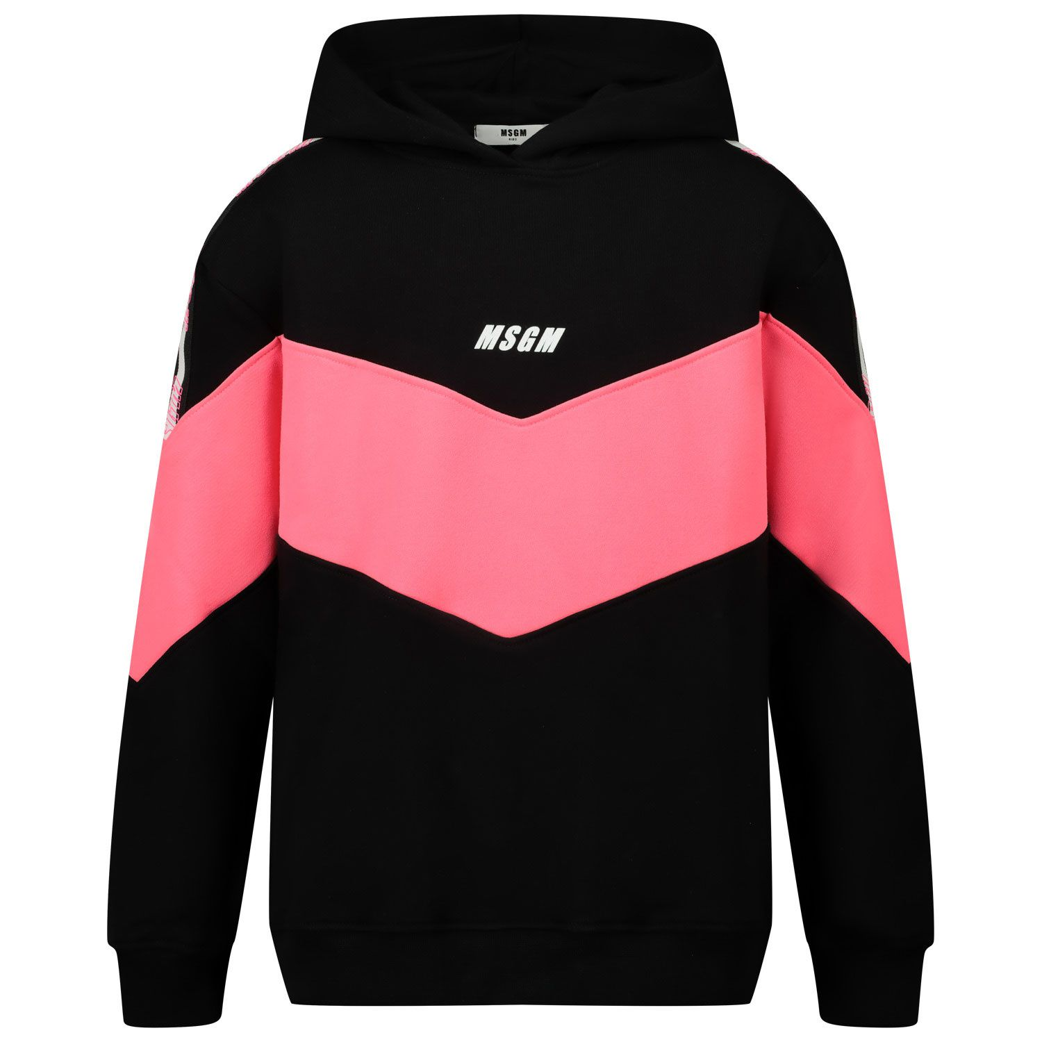 Picture of MSGM 25198 kids sweater fluoro pink