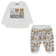 Afbeelding van Moschino MUK02S babysetje off white