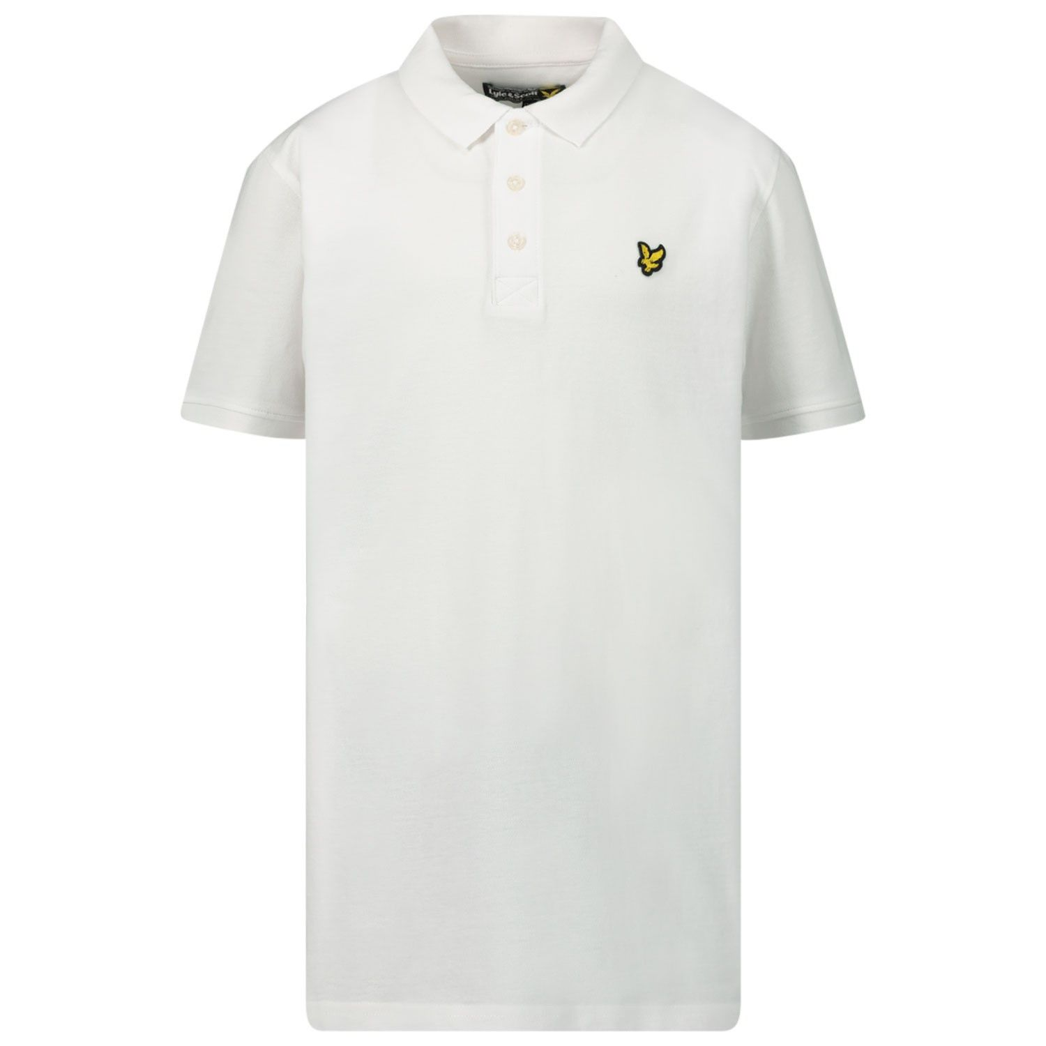 Picture of Lyle & Scott LSC0145S kids polo shirt white