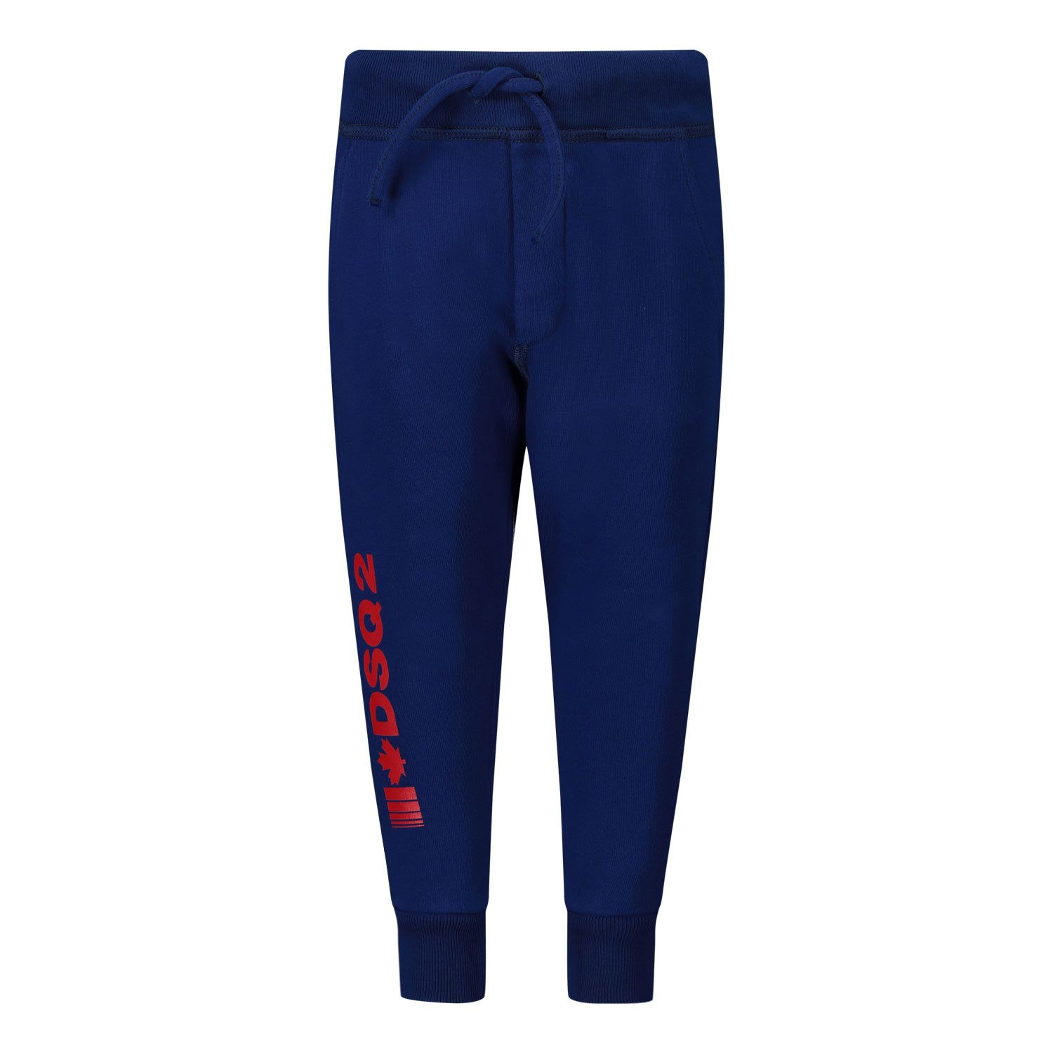 Picture of Dsquared2 DQ04D0 baby pants cobalt blue