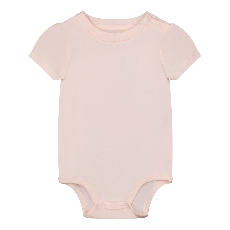 Picture of Ralph Lauren 310833421 rompersuit light pink
