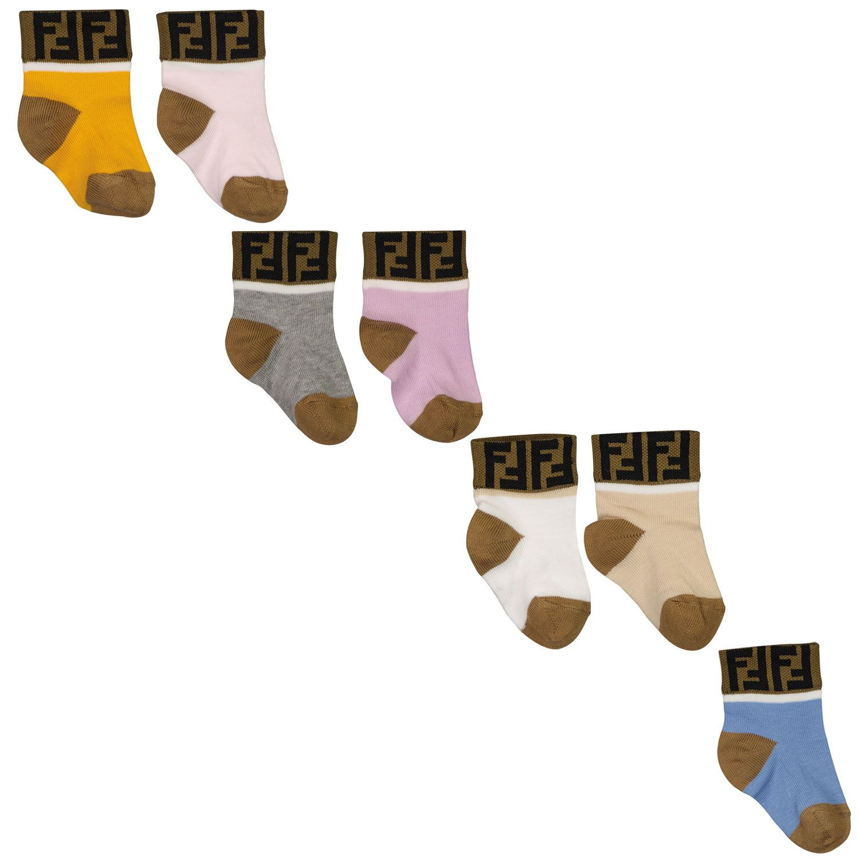 Picture of Fendi BFN031 ACPF baby socks div