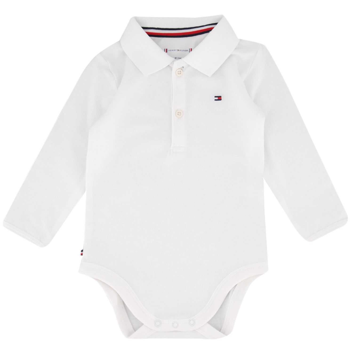 Picture of Tommy Hilfiger KN0KN01176 rompersuit white