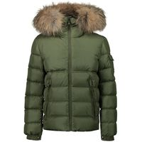Picture of Moncler 1A58622 kids jacket green