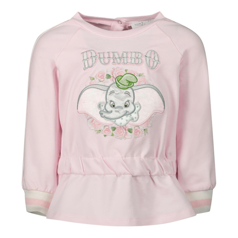 Afbeelding van MonnaLisa 395613RA baby trui licht roze