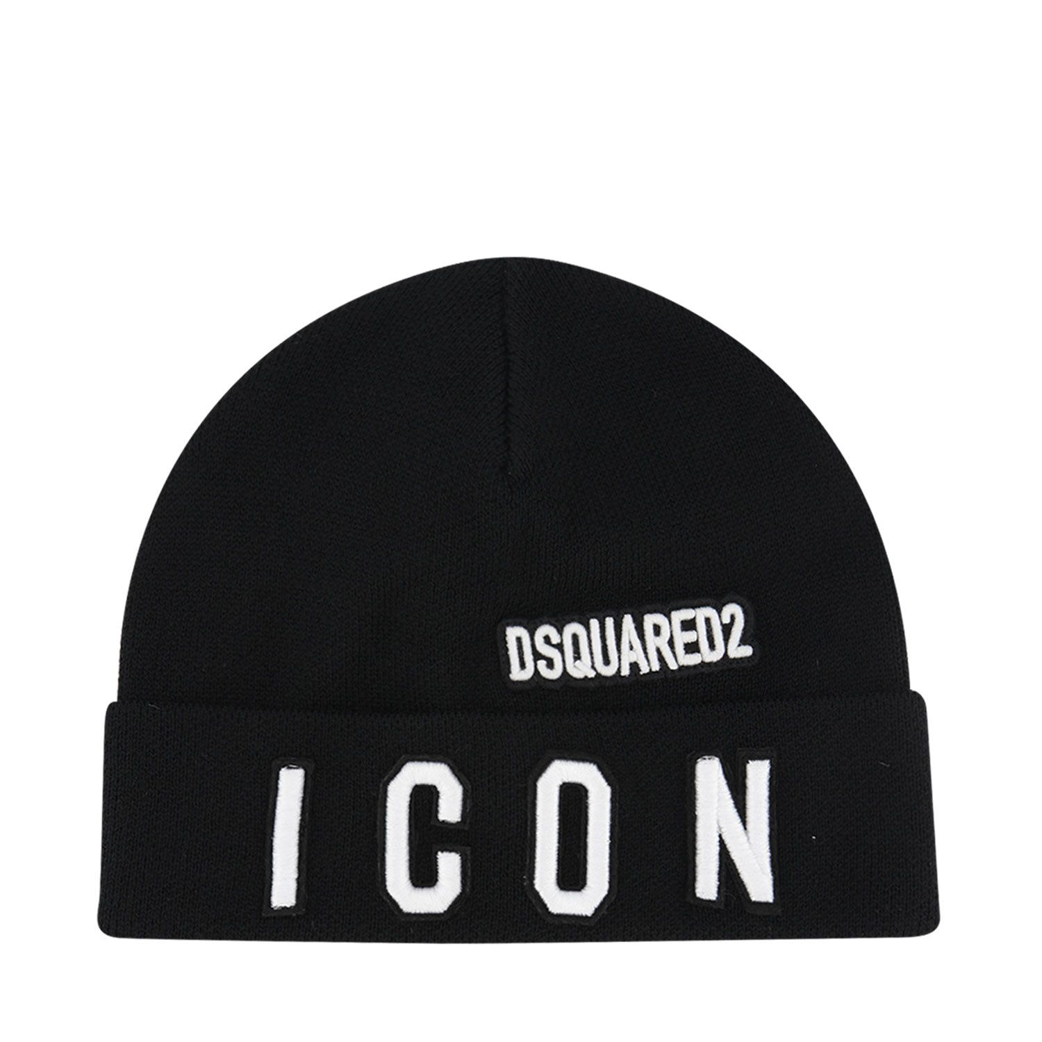 Picture of Dsquared2 DQ04ID kids hat black