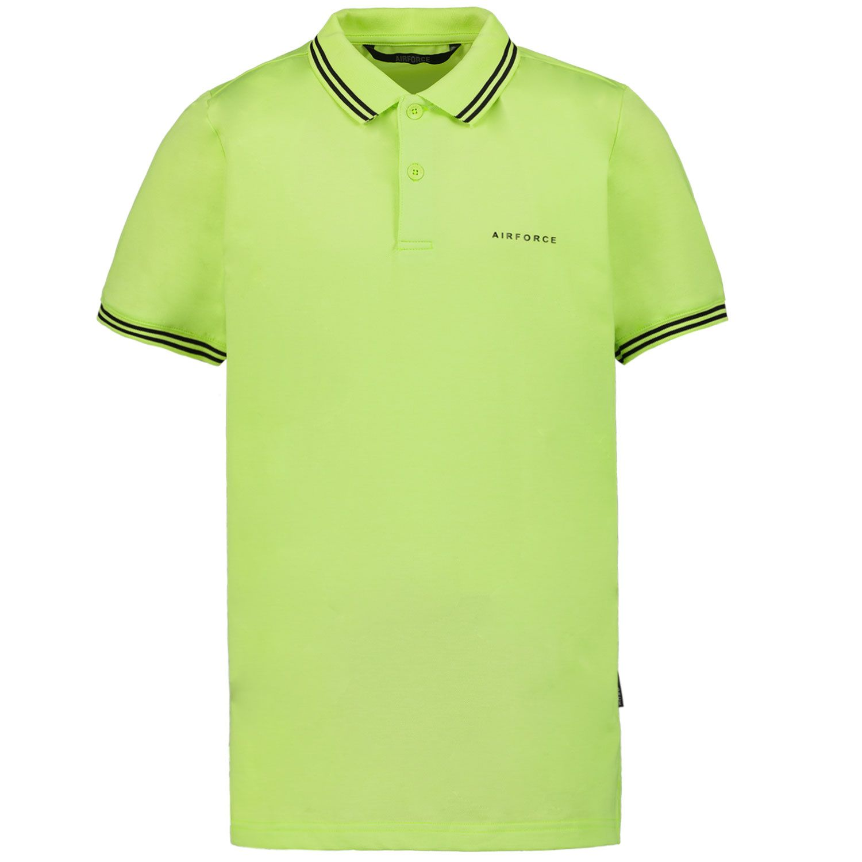 Bild von Airforce HRB0655 Kinder-Poloshirt Neongrün