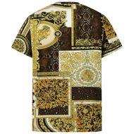 Afbeelding van Versace 1000239 1A00270 kinder t-shirt goud