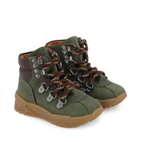 Picture of Armani XMZ002 XOU03 kids sneakers army