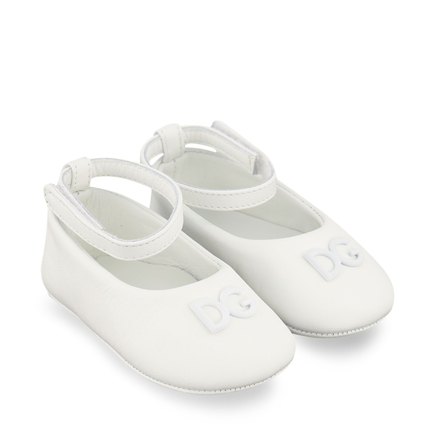 Picture of Dolce & Gabbana DK0065 baby shoes white