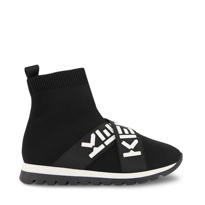 Afbeelding van Kenzo K59020 kindersneakers zwart