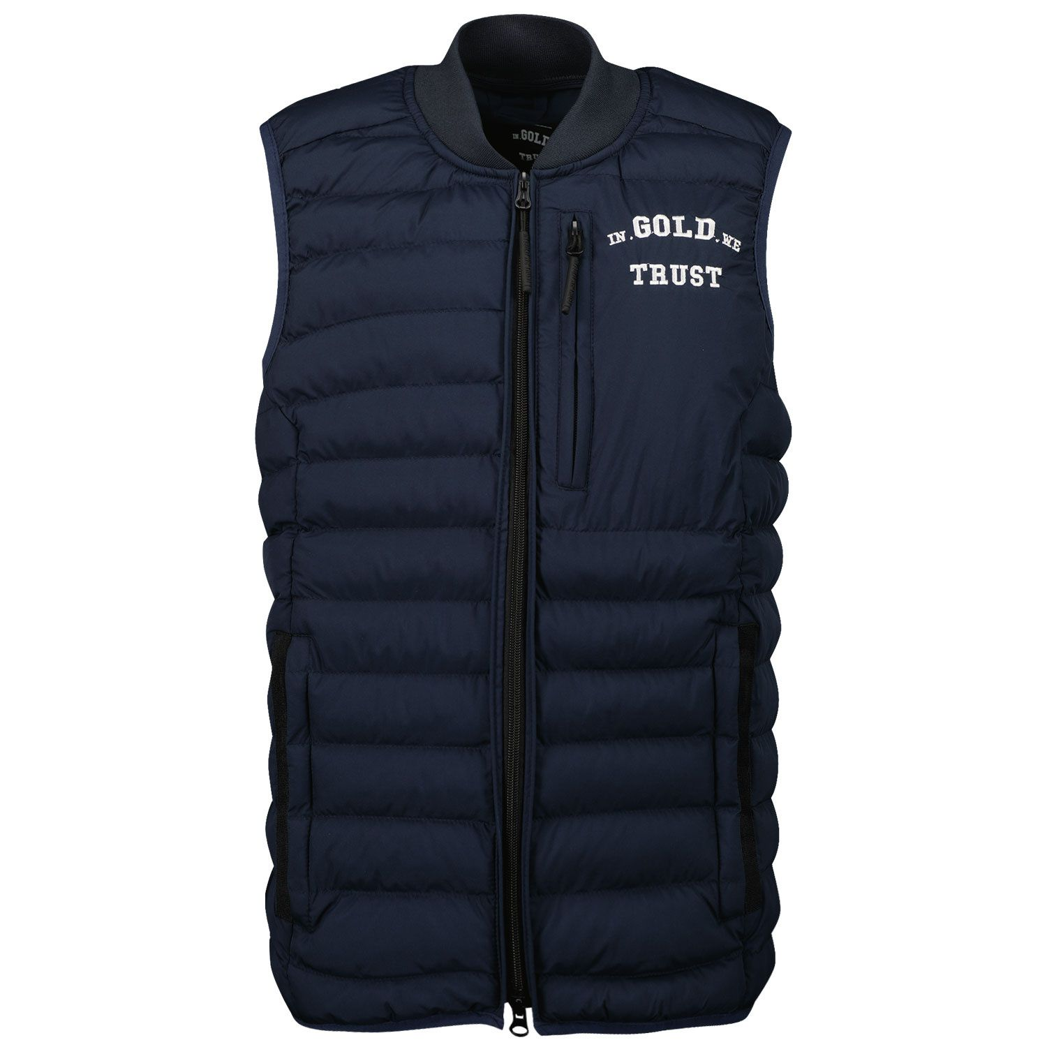 Picture of in Gold We Trust THE GLORY kids bodywarmer navy