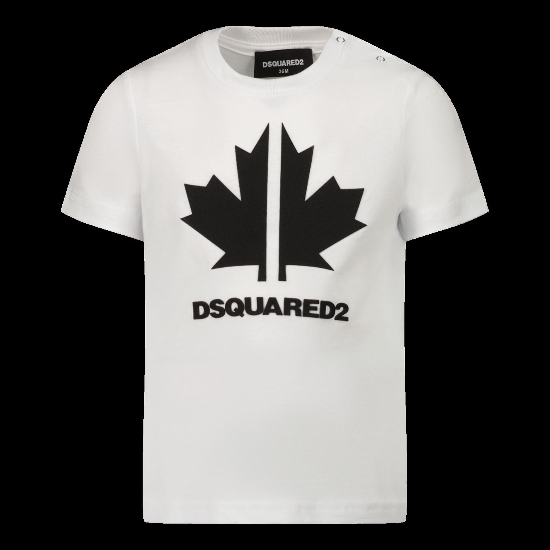 Bild von Dsquared2 DQ0296 Baby-T-Shirt Weiß