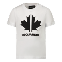 Picture of Dsquared2 DQ0296 baby shirt white