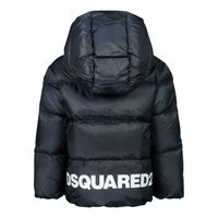 Picture of Dsquared2 DQ04D2 baby coat navy