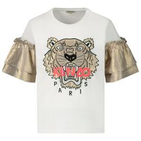 Picture of Kenzo 10228 kids t-shirt white