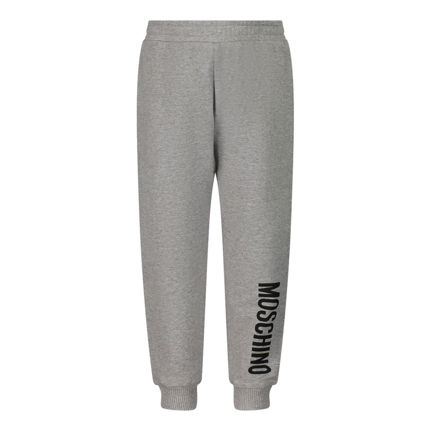 Picture of Moschino MNP035 baby pants grey