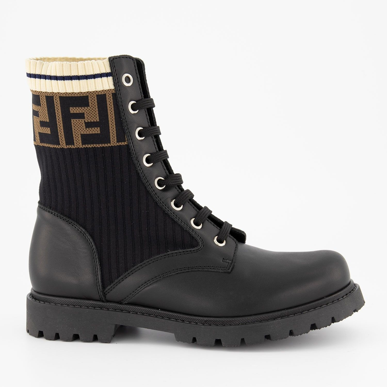 Picture of Fendi JMR284 kids boots black