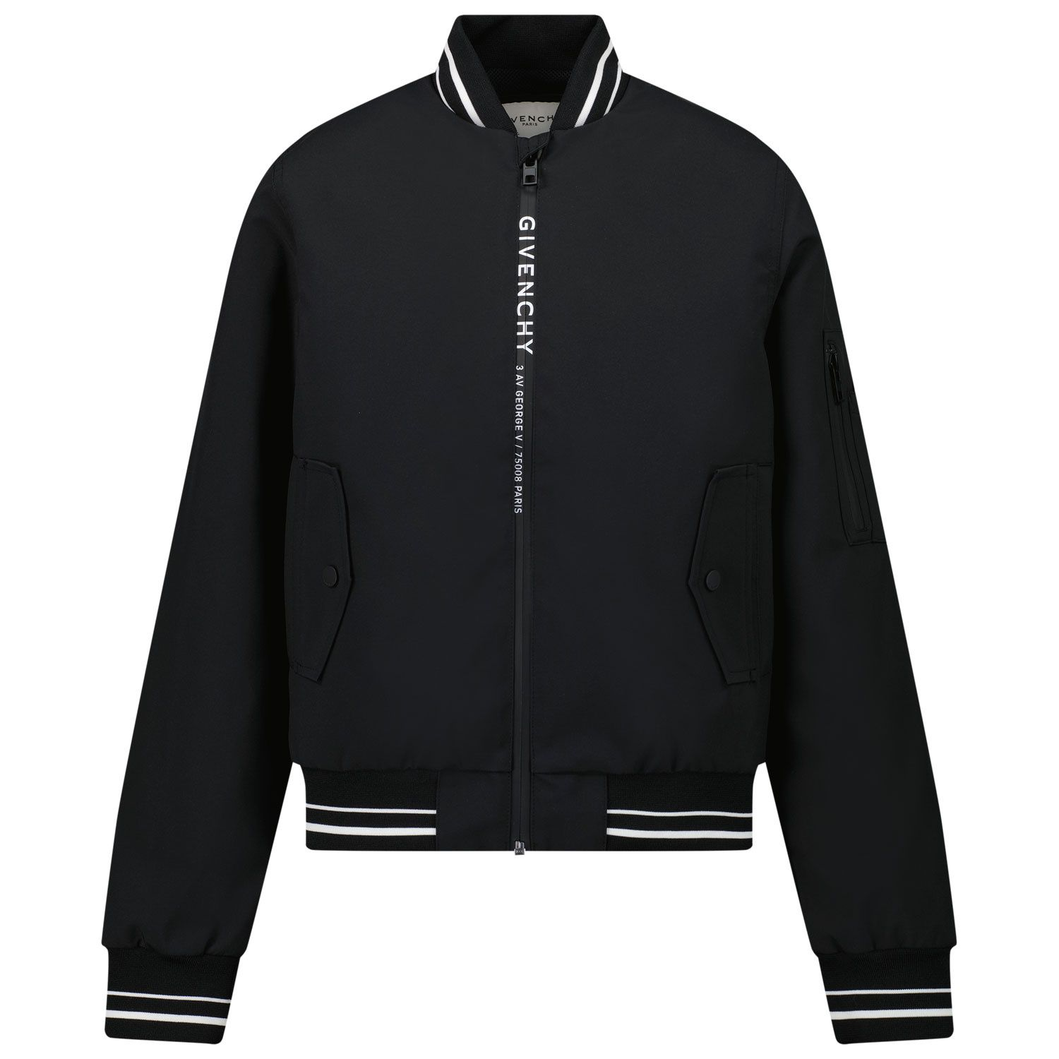 Picture of Givenchy H26071 kids jacket black